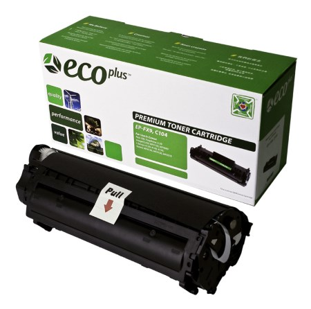 Black Laser/Fax Toner compatible with the Canon FX9  FX10  Canon104 0263B001A